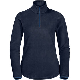 Jack Wolfskin Echo Fleece Pullover Damen midnight blue